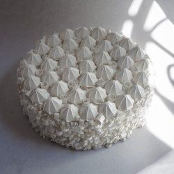 La meringata della Zia - Origami e quilling, complessità e semplicità.