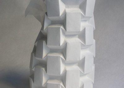 PortaLuppi, tassellazione origami