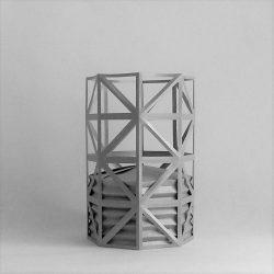 Ori.Gasometer - Origami di ispirazione industriale dedicato a Bernd e Hilla Becher.